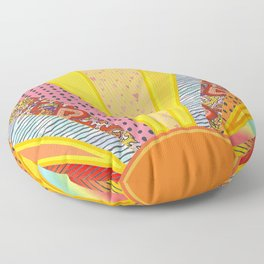 Sun Patterns Floor Pillow