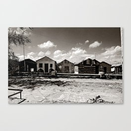 Casitas Canvas Print