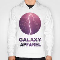 lightning Hoodies featuring LIGHTNING by GALAXY APPAREL