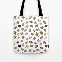 Big Cat Repeat 1 Tote Bag