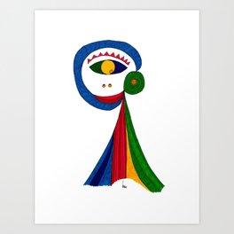 Picaesk #01 Art Print