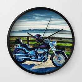 Harley Davidson, Middle Earth Edition. Wall Clock
