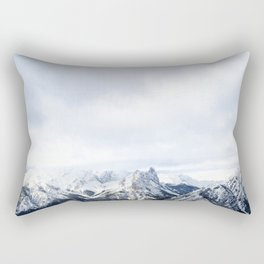Looking out over the Rockies, in Banff Rectangular Pillow