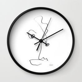 Demeter Moji d14 4-2 w Wall Clock