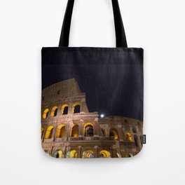 Colosseum by night Tote Bag