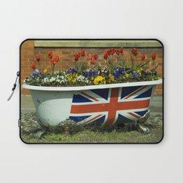 Flower Bath Laptop Sleeve