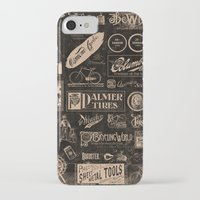 cycling iPhone & iPod Cases featuring Re. Cycling by NOT MY TYPE