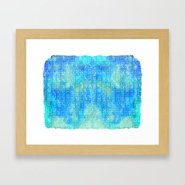 Celestrial Conversation Framed Art Print