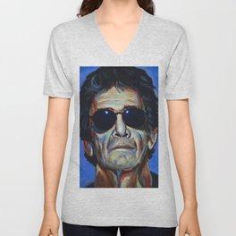 Lou Reed Unisex V-Neck