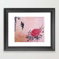 Tattoo Fairy Framed Art Print