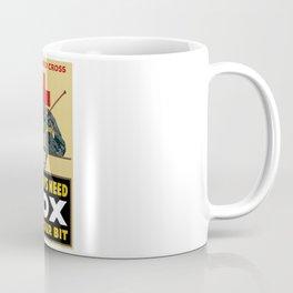 Knit Your Bit -- American Red Cross Coffee Mug
