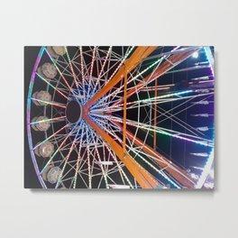 Wheel of Change II Metal Print