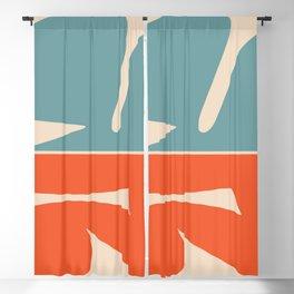 Amoeba minimal abstract Blackout Curtain