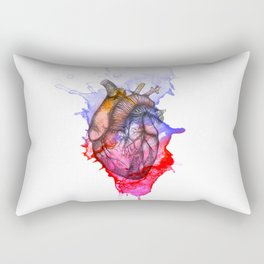 Heart on the Wall Rectangular Pillow