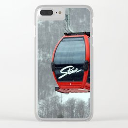 Gondola in Stowe Clear iPhone Case