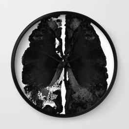 Inkblot Brain Wall Clock