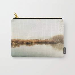 Autumn Lake Scene Carry-All Pouch