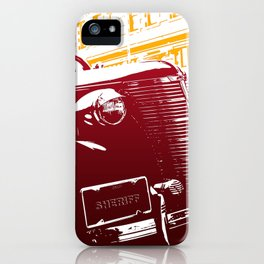 The Law iPhone Case