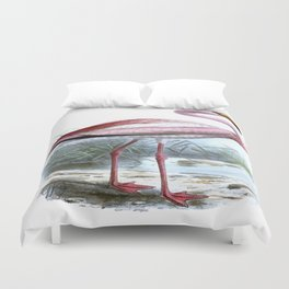 Puna Flamingo Duvet Cover