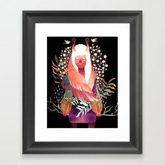 Fonder Framed Art Print