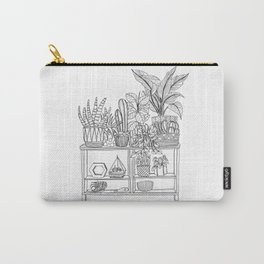 Houseplants Decor Carry-All Pouch