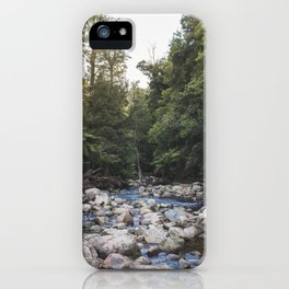a waterfalls view iPhone Case