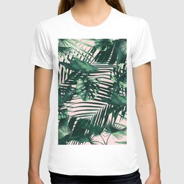 Tropical Jungle Leaves Siesta #3 #tropical #decor #art #society6 T-shirt