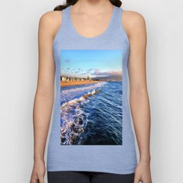 "Hermosa Beach ""On the Pier 2"" Unisex Tank Top"