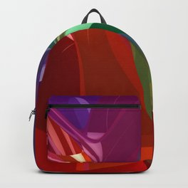 colorful 3D-pattern -3- Backpack