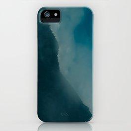 North Cascades Fog iPhone Case