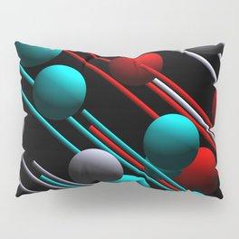 balls and 3 colors Pillow Sham