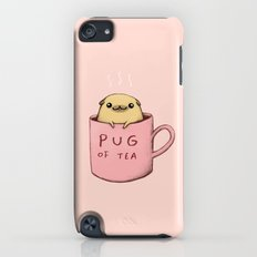 Pug of Tea iPod touch Slim Case