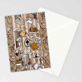 Books: Through the rabbit hole_Moka Stationery Cards