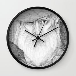 Odin Allfather Wall Clock