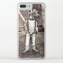 Cousin Unicorn Clear iPhone Case