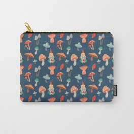 Mushroom garden seamless pattern Carry-All Pouch