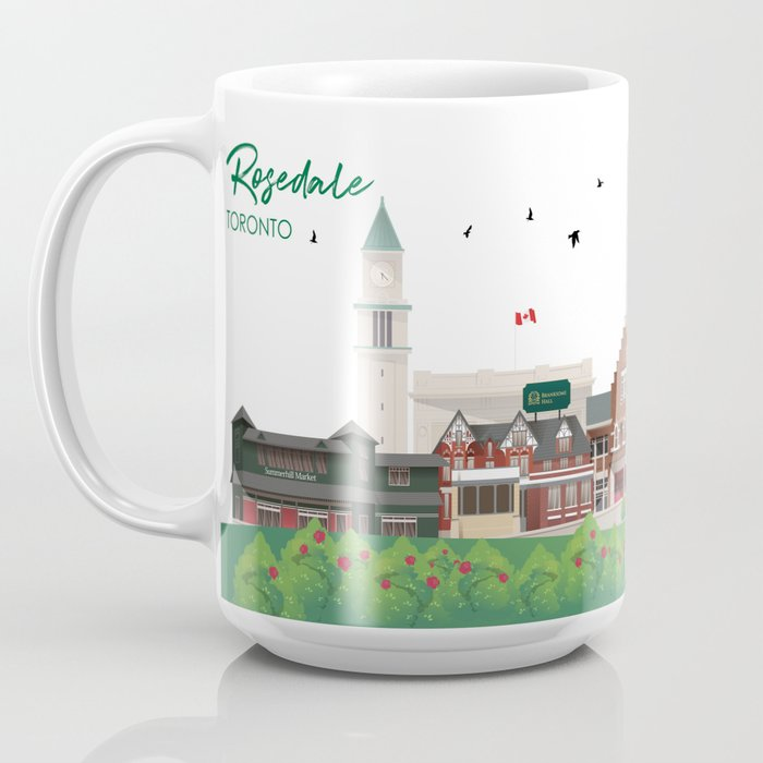 Rosedale - Toronto Neighbourhood Coffee Mug