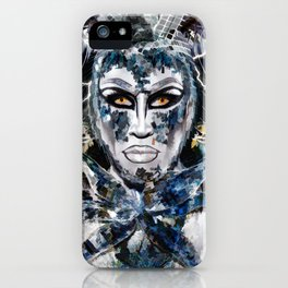 Close Encounters with Glen Alen in OvahFx - Art without a brush  iPhone Case