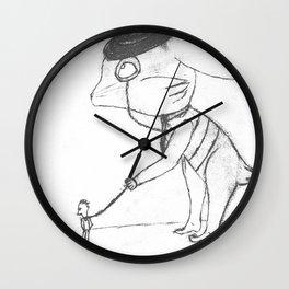 Bankster Bunny Wall Clock
