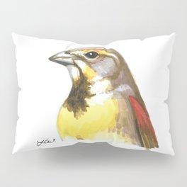 Big Dickcissel Energy Pillow Sham