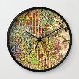 Jeune fille de joie usine (Factory girl joy) (1) Wall Clock
