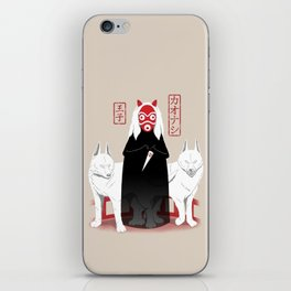 Ouji Kaonashi iPhone Skin