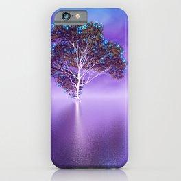 strange light somewhere -19- iPhone Case