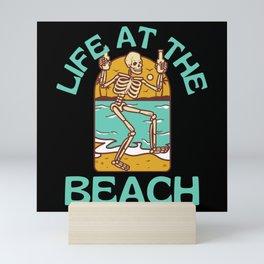 Life At The Beach Mini Art Print