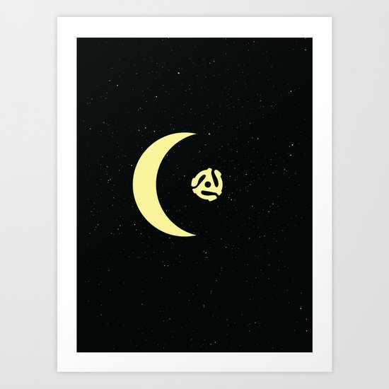 Revolution in Space Art Print