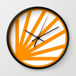 Circle dissected Wall Clock