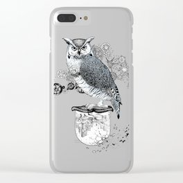 Owl Theory Clear iPhone Case