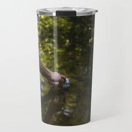 tadpole fishing Travel Mug