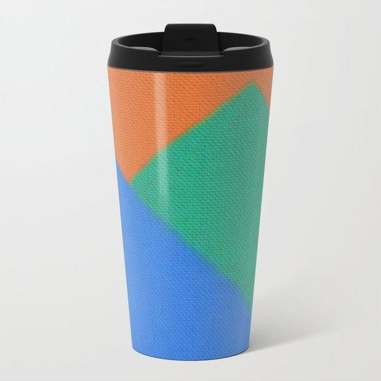 Colors 2 Metal Travel Mug