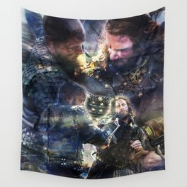 Rage Fire Wall Tapestry
